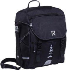 Willex Pakaftas XL 1201 Enkele Fietstas - 25 l - Zwart