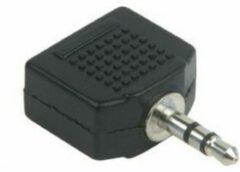 Zwarte Schwaiger kabeladapters/verloopstukjes KHA4080 533