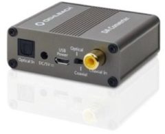 Oehlbach DA-omvormer Audio Converter Toslink, Digitale cinch, Cinch [1x Toslink-bus (ODT), Cinch-koppeling - 2x Cinch-koppeling] Grijs