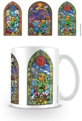 Witte Nintendo The Legend Of Zelda Stained Glass Tri - Mok