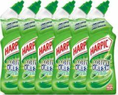 Harpic - Active Fresh Pine - toiletreiniger - 6 x 750ml