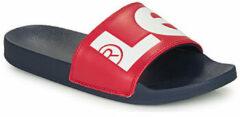 Levi's Batwing Slide Sandal 231548-794-87, Mannen, Rood, Slippers maat: 45 EU