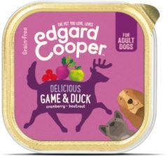 Edgard-Cooper Edgard&Cooper Kuipje Game Duck Adult - Hondenvoer - Wild Eend Veenbes 150 g Graanvrij