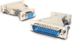 Beige StarTech.com kabeladapters/verloopstukjes Adapter DB9F to DB25M