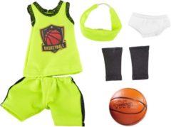 Groene Käthe Kruse Kruselings Joy Basketbalspeleroutfit 6-delig