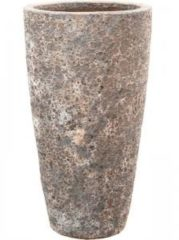 Baq Design Lava Relic Rust metal partner hoge bloempot 35x65 cm