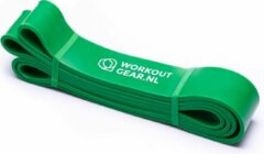 Workout Gear ® Workout Gear - Weerstandsband - Fitness Elastiek - Groen - 20- 55kg
