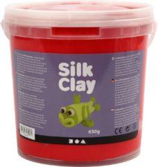 Silk Clay Silk Clay Rood Boetseermateriaal 650 Gr 1 Stuk