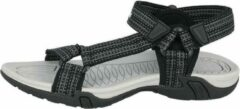 Lico Sandaal, kleur zwart/grijs maat 45