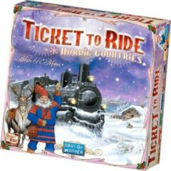 Asmodee Ticket to Ride Nordic Countries - Bordspel - Engelstalig