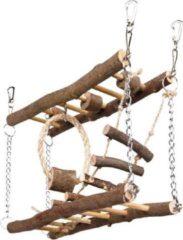 Bruine Trixie Natural Living Suspension bridge - 27 � 17 � 7 cm