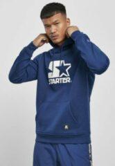 Starter Hoodie/trui -M- The Classic Logo Blauw