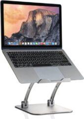 Zilveren IDeskmate - Ergonomisch Verstelbare Laptop standaard - Robuuste Laptopstandaard op ooghoogte
