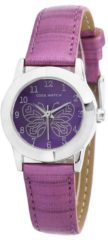 Prisma Coolwatch Meisjeshorloge 'Butterfly' paars CW.185