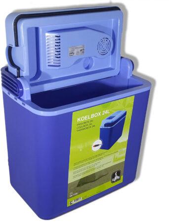 Afbeelding van Blauwe Carpoint Koelbox 24 Liter 12 Volt Blauw