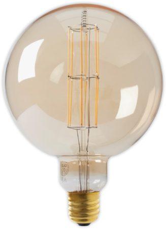 Afbeelding van Calex Holland Calex LED lamp Giant Megaglobe Goud - Dimbaar E40 Fitting - 11W 2100K 1100lm - Energielabel A+