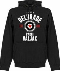 Merkloos / Sans marque Partizan Belgrado Established Hoodie - Zwart - S