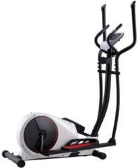 Witte Vidaxl Crosstrainer Magnetisch Met Hartslagmeter