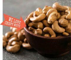 Red Squirrels DAGELIJKS VERS GEBRAND. Crush On Cashew (gebrand, gezouten, 500 gram)