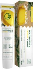 Nordics Oral Care Nordics Vegan Tandpasta Lemon Mint BIO met Fluriode
