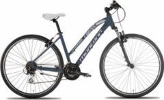 28 Zoll Damen Mountainbike 24 Gang Montana... grau, 44cm
