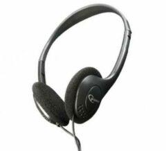 Zwarte Gembird MHP-123 - On-ear koptelefoon met volumeregeling