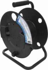 ProPlus kabelhaspel zonder kabel 37 cm zwart