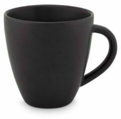Zwarte Vtwonen vtwonen Servies Mini Mug with ear Matt black   150 ml
