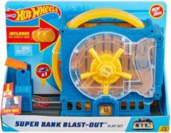 Mattel Hot Wheels City Super Bank Blast Out - Speelset