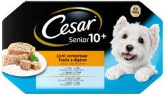 Cesar Alu Multipack Senior - Hondenvoer - 4x150 g - Hondenvoer