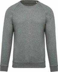 Kariban Heren Organische Raglan Sweatshirt (Grijze Heide)