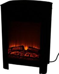 Classic Fire Sfeerhaard Elektrisch Modena - Vrijstaande Elektrische Kachel met Haardeffect - 1800-2000 Watt - Zwart