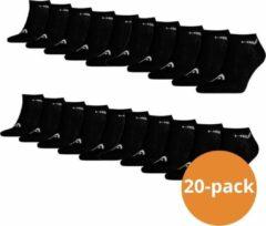 Head Sneaker sokken 20-pack Zwart-35/38