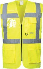Gele Portwest Hi-vis executive vest, Geel, Maat S