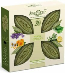 Aphrodite Olijfzeep 4-Pack Herbal Essences