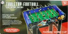 Massamarkt Tafelvoetbalspel Op Poten 69x37x64cm