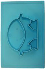 Anti-slip silicone 3D kinder Pinquin blauw il | Kinderplacemat | Vaatwasser bestendig | Anti Slip | Super leuk | By TOOBS