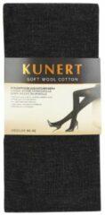 Antraciet-grijze Kunert Soft Wool Cotton maillot in wolblend antra