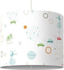 PPS. Imaging Kinderlampe Green City Streets - Lampe - Lampenschirm Weiß