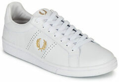 Witte Lage Sneakers Fred Perry B721 LEATHER