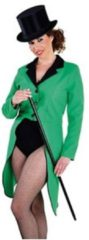 Fun & Feest Party Gadgets Groene lange slipjas voor dames L (44-46)