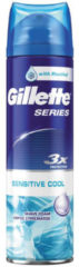 Gillette Series Sensitive Cool Scheerschuim Voor Mannen 250 ml