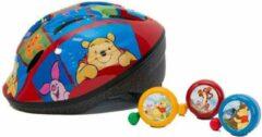 Widek Fietshelm Kind Winnie The Pooh Rood Maat 48-54 Cm