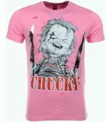Roze T-shirt Korte Mouw Mascherano T-shirt - Chucky