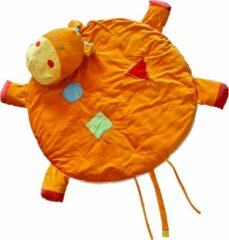 Speelkleed Hippo Oranje