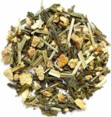 Sencha Sinaas gember groene thee- Tea Bar bestseller - 100 gram voor 50 koppen