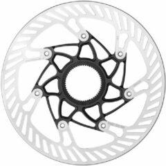 Zilveren Campagnolo Remschijf Centerlock, silver Diameter 140mm