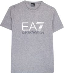Grijze EA7 Shirt Train Logo Series M Special Logo Tee 1