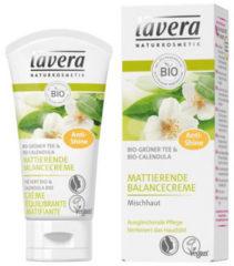 Groene Lavera Matterende Balancing Cream groen Tea (50ml)