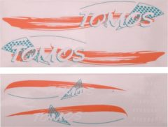 Zwarte Falko 080090 : TOMOS A35 STICKERSET STD